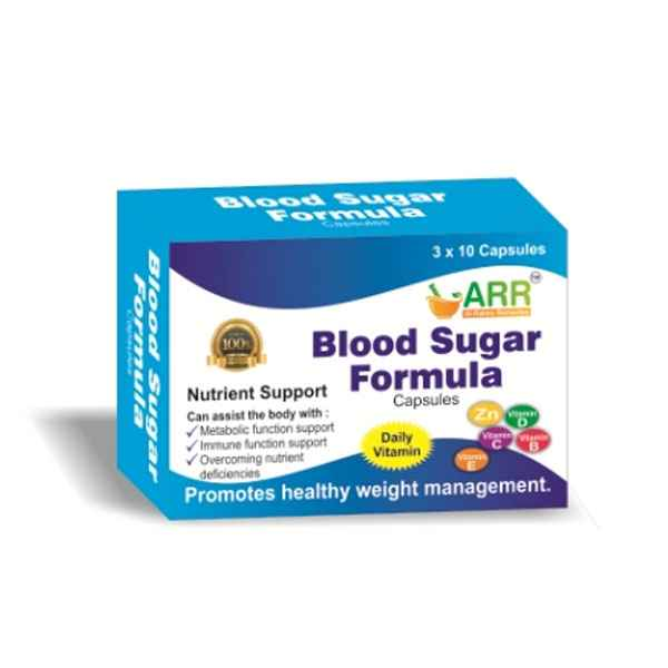 Blood Sugar Formula Capsule-30