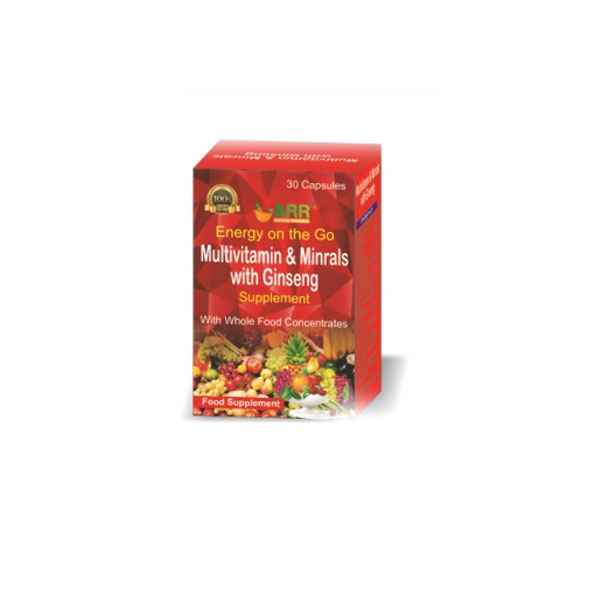 MULTI-VITAMINS WITH GINSENG
