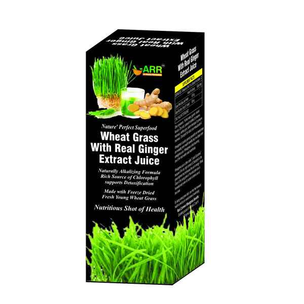 Wheat Grass With Ginger Juice 500ml